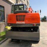 Hotsale 6 Ton Mini excavadoras de ruedas para la venta