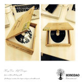 CD Lp van de Kleur van de Douane van de Verkoop van Hongdao de Hete Natuurlijke Houten Doos In het groot _E van de Verpakking
