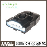 6PCS LED 30lm Head Clip Cap luz portátil