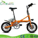 Vélo pliable électrique portable léger de 14 pouces