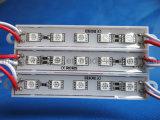 5050 5LED impermeabilizan la luz roja del módulo DC12V
