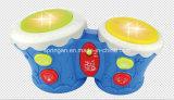 Brinquedos atrativos do instrumento musical do cilindro das crianças do jogador