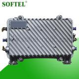 Boîtier étanche en aluminium 1GHz Amplificateur CATV bi-directionnel sur le terrain