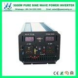 3000W DC72V 순수한 정현 차 힘 변환장치 변환기 (QW-P3000)