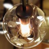 Lampadario a bracci di vetro di alluminio antico Bronze moderno della sfera della bolla della filiale di albero di Lindsey Adelman