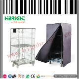Un fil de trame Rouleau en acier pliable Cages de conteneur