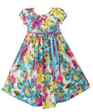 Les filles robe bleu Parti Sundress Halloween Kids clothes Size 2-10