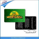 Tarjeta de identificación de la tarjeta de identificación de empleado de plástico PVC