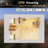 Sudáfrica, dos dormitorios certificadas SGS prefabricados moderna casa