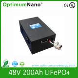 Elegante 48V 200ah LiFePO4 Battery PCBA Pack voor Solar Power System