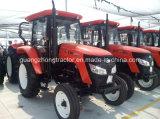 grand tracteur de ferme de 80HP 4WD avec la vente chaude de qualité en Afrique