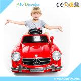 Езда младенца малышей игрушки RC электрическая на Benz красного цвета автомобиля