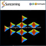 Cerimonia nuziale Decoration RGB 3 in 1 3D Triangle LED Wall Panel Light
