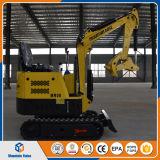 中国の庭のためのログのグラブを持つ安い価格の掘削機0.8ton掘る機械800kg小型坑夫