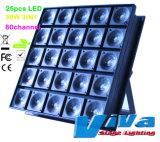 Professional 25X30W à LED à matrice de pixels Blinder Effet Lumière /Stade Light/Lumière de la SOAD/DJ Light (QC-LE071)