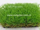 60 millimètres de jardin de loisirs d'herbe de aménagement à haute densité d'article truqué (SUNQ-AL00085)