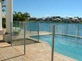 Gehard glas voor de Omheining van het Zwembad