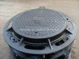 Tampas de câmara de visita Ductile municipais anticorrosivas do ferro de carcaça