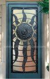 出入口のための眉毛のアーチの上が付いている現代様式の錬鉄の単一のドア