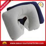 Material de PVC Cuello Almohada hinchable de impresión