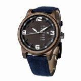 OEM 2018 Reloj de pulsera reloj de madera de los hombres de la mujer reloj de cuarzo