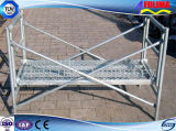 Galvanisiertes örtlich festgelegter Winkel-Stahlgestell mit gehendem Vorstand