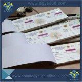 UV-Stumpfe Papiersicherheits-Rabatt-Karte für Förderung
