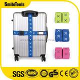 Correa hermosa colorida del embalaje del equipaje con la hebilla