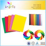 Papel del color de la talla de la carta
