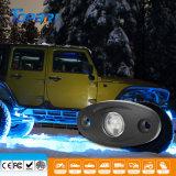 Rgb-Hülsen Bluetooth nicht für den Straßenverkehr Felsen-Mehrfarbenlicht des Jeep-LED