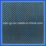 Panno blu dell'ibrido della fibra del carbonio di PARA Aramid