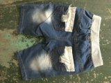 Der beiläufigen Form-Großhandelskinder schließen Denim-Jeans kurz