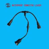 Suporte de bronze preto impermeável elétrico da lâmpada do diodo emissor de luz