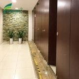Grãos de madeira laminado compacto Wc Portas dos compartimentos