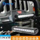 barra de la linterna del vehículo de la fila LED del CREE de 17inch 100W sola