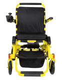 Scooter pliable léger de fauteuil roulant électrique pour des gosses