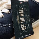 Gute Qualitätskundenspezifischer KennsatzHangtag für Kleid-Beutel-Hut-Schuhe