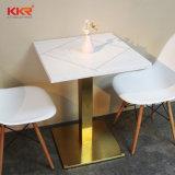 Комплекты обедая таблицы твердой поверхностной мебели кухни квадратные