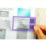 L'OEM personnalisé de logo a conçu la grille de tabulation de loupe de signet, l'aperçu gratuit (HW-802A)