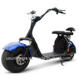 Fettes Rad-leistungsfähiger grüner elektrischer Roller mit 01 - 60V 2000watt schwanzloser Motor