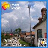 210lm/W Outdoor Accueil solaire LED de la rue du jardin d'éclairage moderne