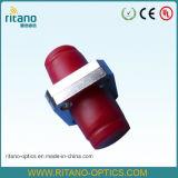 Adaptateur de fibre optique pour l'adaptateur solide de câble optique de Metail de grand dos de FC