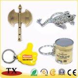 Keyring barato personalizado do metal da alta qualidade