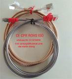 El conector del cable 32AWG Natura blindados Color F/UTP de CAT6un cable de conexión