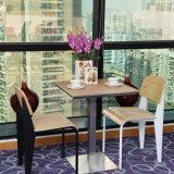 Muebles de patio de comidas Comida Rápida mesa y silla para ventas