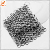 Chainmailの鋳鉄鍋のスクラバー