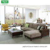 Home Sala Escura L Shape Lounge Chaise Sofá Set 1+3+L
