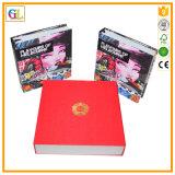 Compagnie d'impression sur le livre du livre À couverture dure A4 de couleur