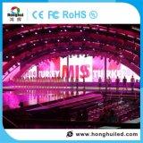 Pantalla de visualización de interior de alquiler de LED P4 de HD para la demostración de la música