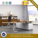 Het houten Bureau van Exeuctive van het Comité van het Metaal van het Kantoormeubilair Zilveren (Hx-8N1466)